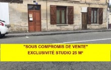 EXCLUSIVITÉ LIANCOURT STUDIO EN REZ DE CHAUSSEE IDEAL INVESTISSEUR